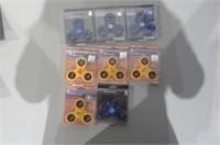 Lot of (8) Fidget Spinners