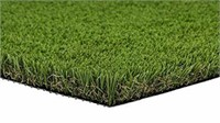 PZG Artificial Grass Rug w/Drainage Holes & Rubber