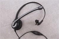 Wantek Corded Telephone Headset Mono w/ Noise