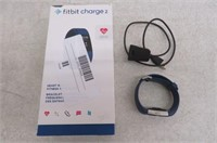Fitbit Charge 2 Fitness Tracker, Large, Blue