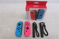 Nintendo Joy-Con (L/R) Neon Red/Blue - Left and