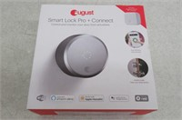 August SL03C02S03 Smart Lock Pro + Connect, Silver