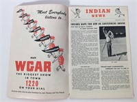 1947-48 Cleveland Indians Souvenir Score Books