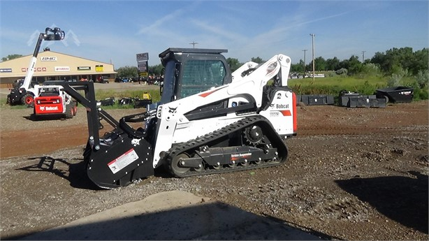 BOBCAT T870 Skid Steer Mulchers Logging Equipment For Sale - 15