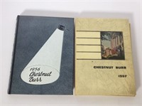 (2) Kent State Yearbooks 1956 and 1957