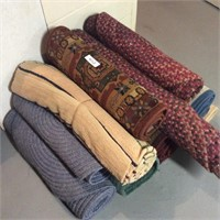 Lot of Braided and Cut Pile Rugs