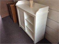 White Cabinet, Accent Lamp