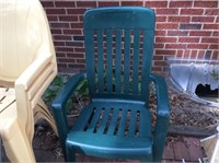 Outdoor Chairs, Ottoman