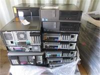 (1) Pallet of Assorted Desktops College Surplus