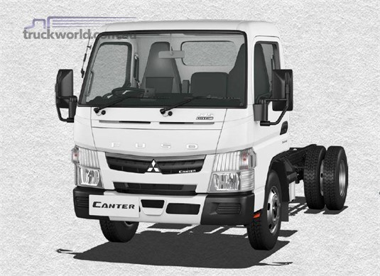 Fuso Canter 4x2 515 City Cab SWB 6 Sp. DCT