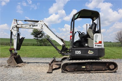 2012 bobcat e35 at machinerytrader com