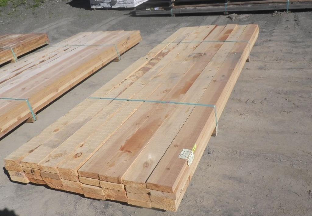 Western Red Cedar Dimensional Lumber 2