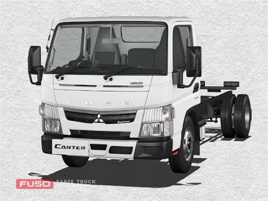 Fuso Canter 4x2 515 Superlow City Cab MWB 6 Sp. DCT