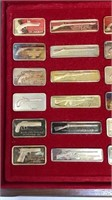 American Weapons Hall of Fame Sterling Ingots-