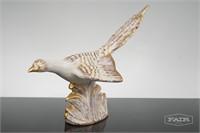 Pair of Royal Haeger Gold Tweed Pheasants