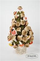 Italian Mushroom Tree and Colorful Lampshade