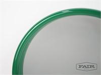 Round Green Danish Hanging Wall Mirror