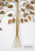 Tree Branch Metal Wall Sculpture