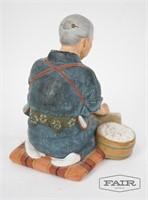 3 Hakata Japanese Figurines