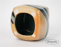 Studio Pottery Vase and 2 Mugs
