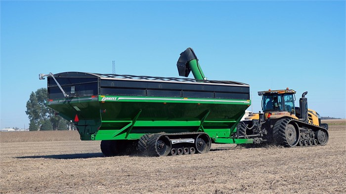 Unverferth Debuts New Dual-Auger Brent 2596 Grain Cart At