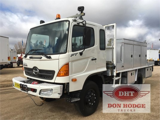 2007 Hino FT 4x4 Don Hodge Trucks - Trucks for Sale