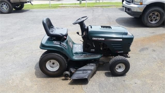 Craftsman Lt1000 For Sale 4 Listings Tractorhouse Com >> 2009 Craftsman Lt1000 For Sale In Coweta Oklahoma
