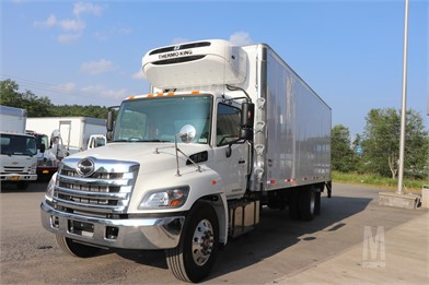 2020 HINO 338 Reefer For Sale - 2 Listings | MarketBook ca