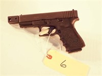 Glock model 23 semi auto pistol