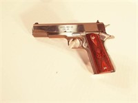 Springfield 1911-A1 semi auto pistol, case