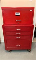 Quality Tool Chest and Roller Cabinet with Content