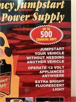 Emergency Rechargeable Jumpstart For Vehicles