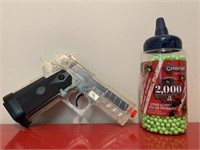 Crossman Airsoft Pistol and Airsoft BB's