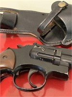 Crossman Air Pellet Pistol and Leather Holster