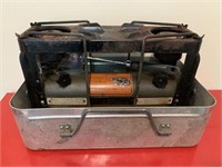 Antique Camping Stove Kit