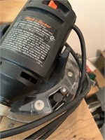 Black and Decker Rotary Tool with Accessories