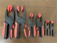 Set of Woodworking Clamps