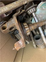 Lot of Model and A and Other Car Parts