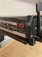 """Craftsmen 10"""" Radial Arm Saw"""