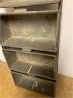 Antique Metal Breadmaking Pan