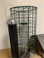 Lot of Many Bird Feeds and Outdoor Accessories