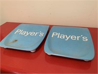 Pair of Players Cigarette Ashtrays
