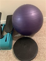 Fitness Lot-Power Stepper-Twister and Ball