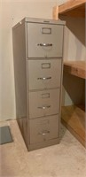 4 Drawer Steelcase Letter Size File Cabinet