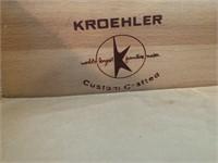 Mid Century Modern Kroelher Dresser and Mirror