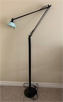 Modern Adjustable Reading Lamp as Found