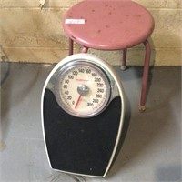 Pink Stool, Health O Meter Scale
