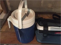 Insulated Jug, Rubbermaid Softside Cooler