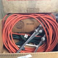 Basement Lot, Cords, Drain Opener, Wet Stones
