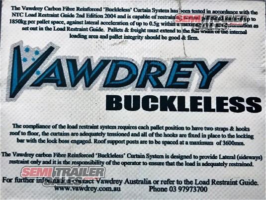 2012 Vawdrey 45FT Curtainsider Semi Trailer Semi Trailer Sales - Trailers for Sale